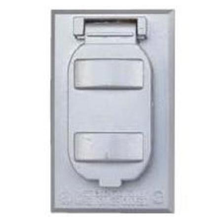 BWF - FC61, 1-Gang Covers - Metallic, Boxes &, Weatherproof