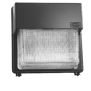 Hubbell-Outdoor Lighting PGM3-250P-18-BZ-L Wallpack, PS Metal Halide, 250W, 120-277V, Dark Bronze