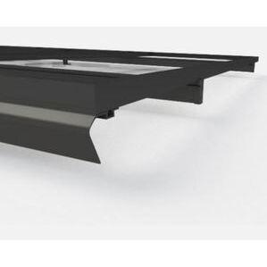 "UniRac 315168D Solarmount Light Rail, 168"", Dark Bronze Anodized (Black)"