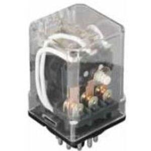 Eaton D3RR2T1 Ice Cube Relay, Dpdt, Octal Base, 10a, 24VDC Coil