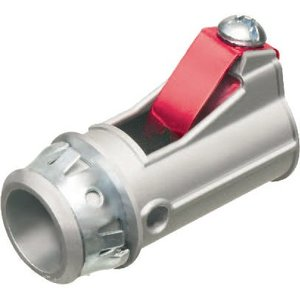 "Arlington 4110ST Cable Connector, 1/2"", Zinc"