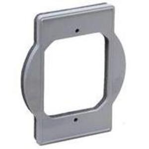Hubbell-TayMac PRBA400G Round Box Adapter Plate