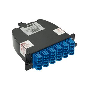 Panduit FC29N-24-10AS Opticom LC Cassette, OS1/OS2 24-Fiber