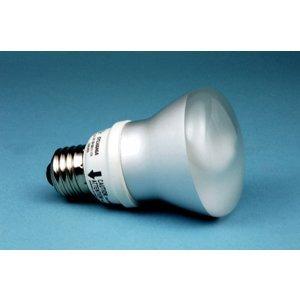 SYLVANIA CF9EL/R20/827 Compact Fluorescent Lamp, R20, 9W, 2700K