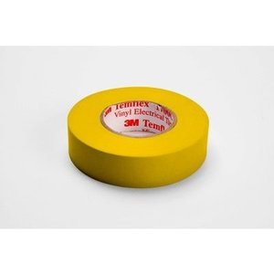 "3M 1700C-YELLOW Vinyl Electrical Tape, Yellow, 3/4"" x 66'"