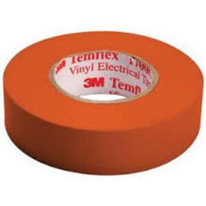 """3M 1700C-ORANGE Vinyl Electrical Tape, Orange, 3/4"""" x 66'"""