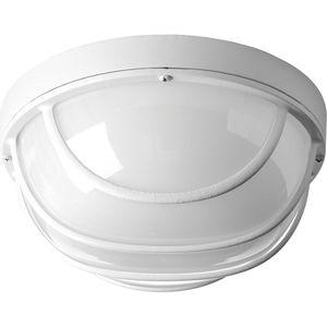 Progress Lighting P3650-3030K9 LED Wall or Ceiling Bulkhead, 17W, 1211L, 3000K, 120V, White
