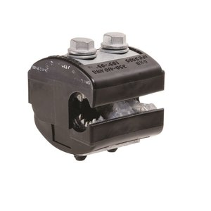 Burndy BIPC5004/0 Insulation Piercing Connector, 350 - 500 MCM (Run), 4 - 4/0 AWG (Tap), 600V