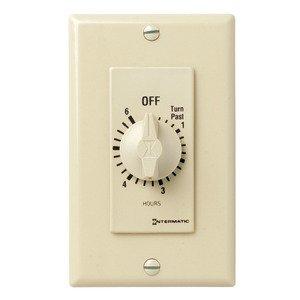 Intermatic FD46H Timer Control, 125-277VAC, Ivory