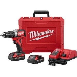 "Milwaukee 2702-22CT MILW 2702-22CT M18™ ½"" COMPACT BRUS"