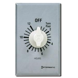 Intermatic FF312H Spring Wound Timer, 12-Hour, 125-277V