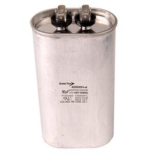 DiversiTech 45500H Motor Run Capacitor, 440V, 50uF