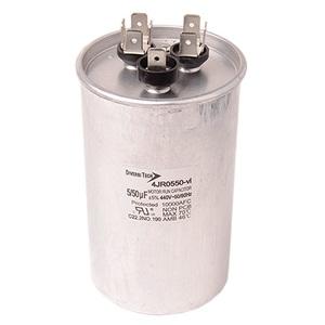 DiversiTech 4JR0550 Motor Run Capacitor, 440V, 50+5uF