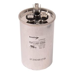 DiversiTech 4JR0530 Motor Run Capacitor, 440V, 30+5uF