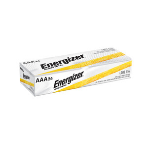 Energizer EN92 AAA Battery, Alkaline, 1.5V, 1,200 mAh at 25 mA