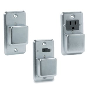 Eaton/Bussmann Series SOU Plug Fuse, Cover Unit, Single Gang, 15A, 125VAC