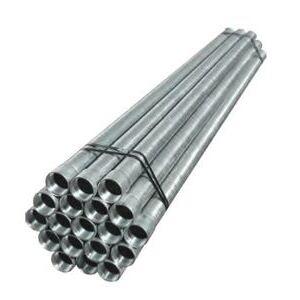"""Calbrite ST0710CT00 Rigid Conduit with Coupling, 3/4"""", Galvanized Steel, 10'"""