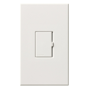Lutron V-600-WH Dimmer, 600va Inc/Low Voltage, White