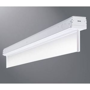 Metalux 8SKLED-LD1-10-N-277-L835-CD2-TEK100/277 8' LED Low Bay Luminaire, 10000 Lumen, 77 Watt, 3500K, 277V