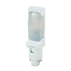 Lunera HN-H-G24Q-B-11W-840-G4 LED Helen Lamp, 4-Pin, Horizontal Orientation, 11W, 4000K