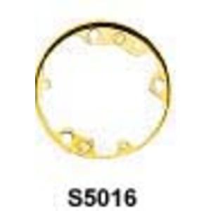 Hubbell-Kellems SA5016 Round PVC Floor Box Adapter Ring, Aluminum