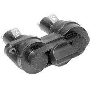 "Eaton/Bussmann Series HPS2 Fuse Holder, Bayonet Knob, for 13/32"" x 1-1/2"" Fuses, 30A, 600V"