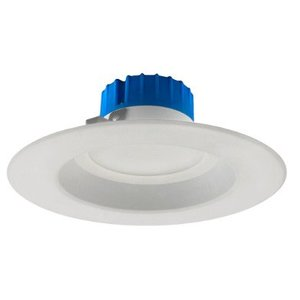 "DLR56-3008-120-3K-WH Recessed LED Downlight, 5""& 6"", 12W, 800 Lumen, 3000K, 120V"