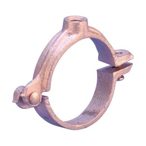 Erico Caddy 4560050CP Split Ring Hanger For Copper Tube, 456 Series, 1/2""