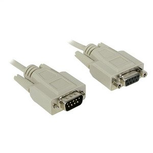 09452 CABLES TO GO 25FT DB9 M/F ALL LINES EXT CABLE