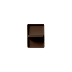 Lutron N-600-BR Slide Dimmer, 600W, Incandescent, Nova, Brown