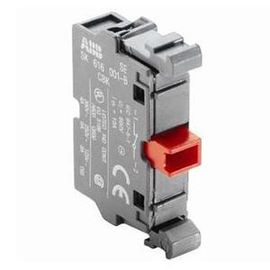 ABB MCB-01 Pilot Device, 22mm Contact Block, 1NC, Front Mount, Non-Metallic