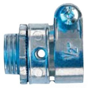 Cooper Crouse-Hinds 711DC Flex Connector, Squeeze, Straight, 1-1/4 Inch, Die Cast Zinc