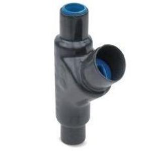 "Ocal EYS31-G Sealing Fitting, Vertical/Horizontal, 1"", PVC Coated Iron"