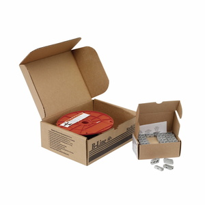 "Cooper B-Line BKP10094 KwikPak™ Kit, Includes: (100) Kwik-Clamps and (500') 3/32"" Wire Rope"