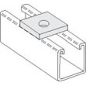 """PHD Manufacturing S5003EG Square Washer, 5/8"""" Rod, Steel, Electro-Galvanized"""