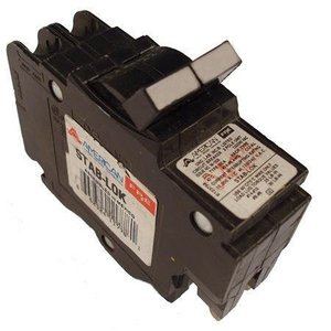 American Circuit Breakers 0220 20A, 2P, 120/240V, 10 kAIC CB, Small Frame