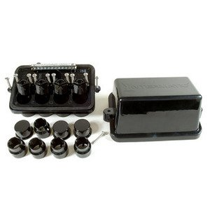 "Intermatic PJB4175 Swimming Pool Junction Box, Depth: 5"", Black, Plastic"
