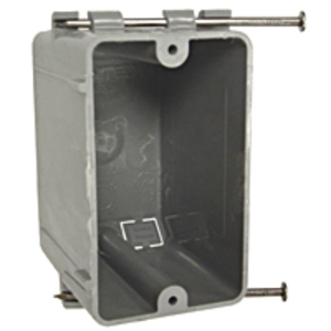 Hubbell-Raco 7302RAC Switch Box, Nail-On, 2-3/4 Inch Deep, Non-Metallic