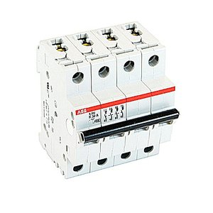ABB S204-K32 Mcb 4p K 32a 480y/277 Supp