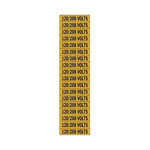 Brady 44359 Conduit & Voltage Marker