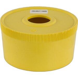 Square D ZB4BZ1905 Pilot Device, Round Guard, Plastic, Yellow, for Mushroom Head