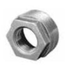 "Matco-Norca ZMBBU0605 Hex Bushing, 1-1/4 x 1"", Black, Malleable Iron"