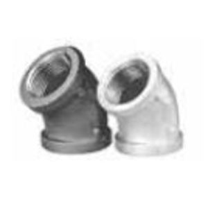 "Matco-Norca ZMGL4508 Elbow, 45°, 2"", Malleable Iron"