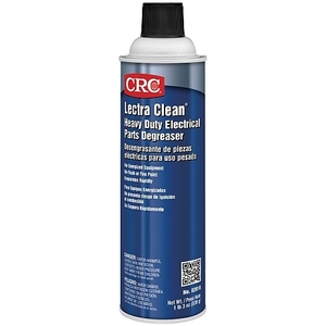 CRC 02018 Heavy Duty Electrical Parts Degreaser - 19oz Aerosol Spray Can