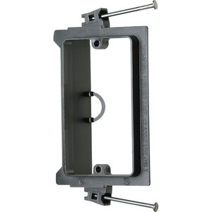 Arlington LVN1 Mounting Bracket, 1-Gang, Low Voltage, Non-Metallic