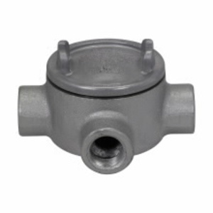 Cooper Crouse-Hinds GUAW26 3/4 BOT HUB CST IRON DIV 1 ROUND BASE OU