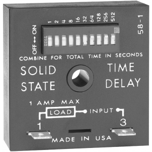 SSAC TDUL3001A Solidstate Timer .1s-102.3s