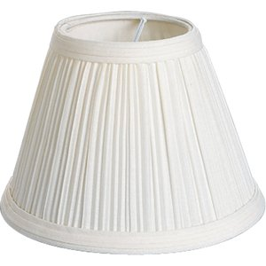 Progress Lighting P8639-01 Pleated Fabric Shade