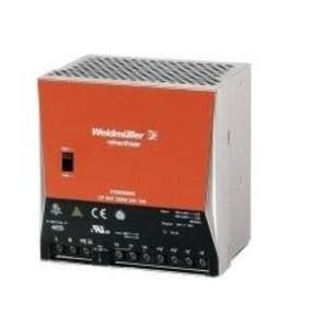 Weidmuller 8708680000 Power Supply, 240W, 10A, 24VDC Output, 264VAC, 370VDC Input, 1PH