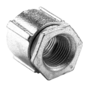 "Bridgeport Fittings 1125-AL 1 1/2"" 3-PIECE COUPLING"
